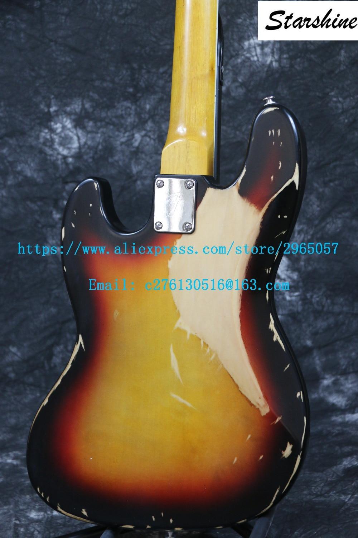 Instock Starshine Relic 1961 FD JAZZ 4 լարային - Երաժշտական գործիքներ - Լուսանկար 2