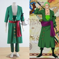 Athemis ONE PIECE cosplay Roronoa Zoro cosplay costume male XL