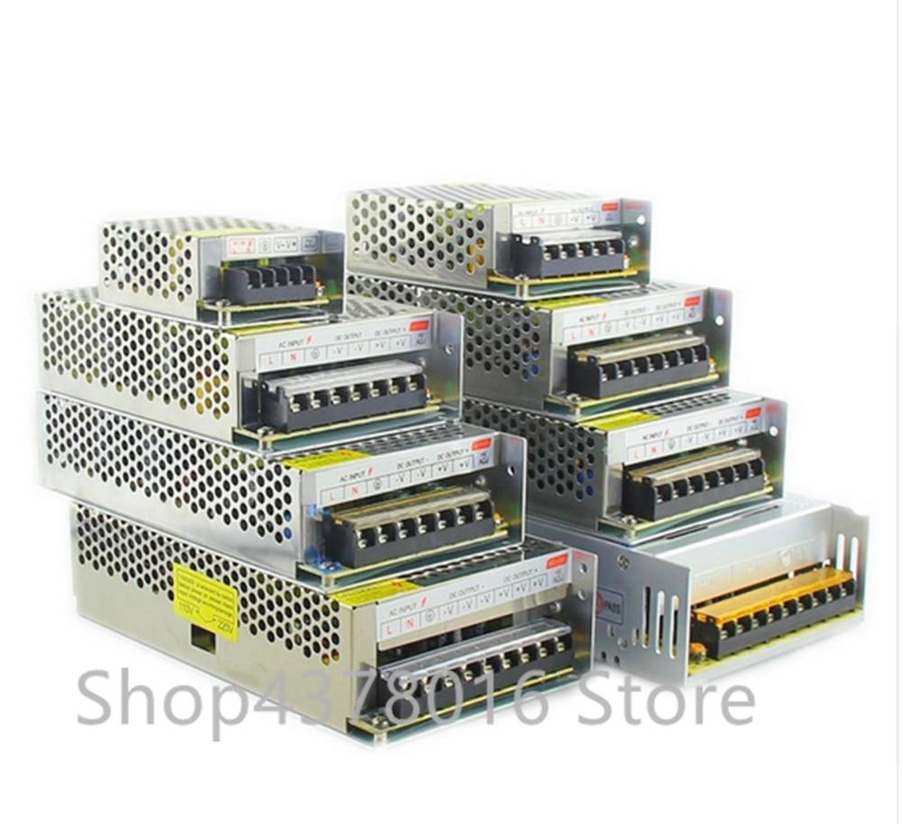 AC 110 В-220 в к DC 5 в 12 В 24 В 1A 2A 3A 5A 10A 15A 20A 30A 50A переключатель питания адаптер драйвера светодиодная полоса света
