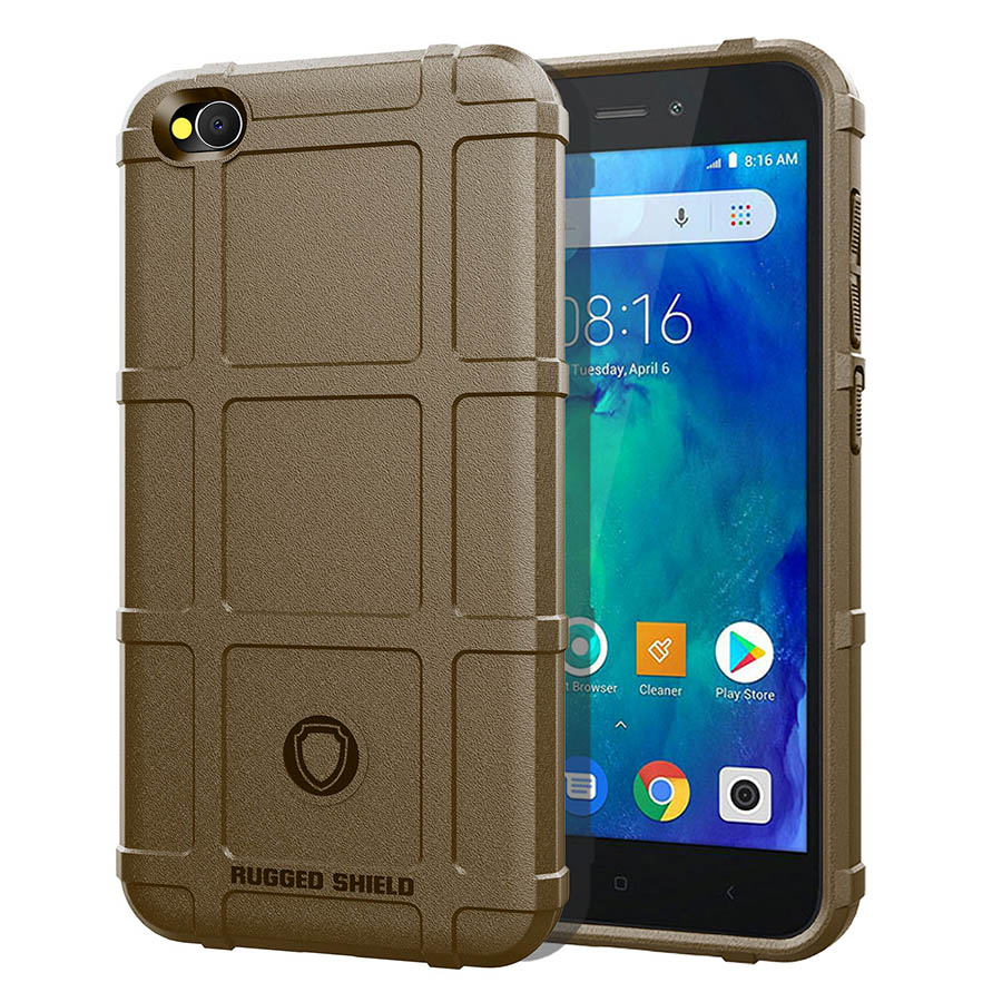 Case for Xiaomi Redmi Go Case Xiomi Redmi Go Military Protection TPU Shockproof Cover Phone Luxury Redmi Go Cases Global in Fitted Cases from Cellphones Telecommunications