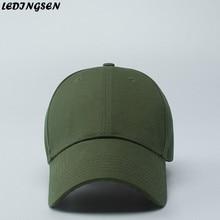 LEDINGSEN 2018 Summer Unisex Army Green Baseball Caps Adjustable Hip Hop Snapback Dancer Sun Hats Trucker Cap Masculino