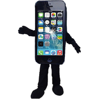 Mascot Costume Cell Phone Apple iPhone 5C Adult Size