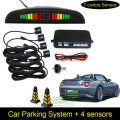 Free Shipping Car Parking System with 4 Sensors 22mm + LED Display + Buzzer Alarm, Auto Parking Sensor Kit Radar System