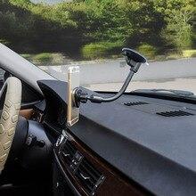 Горячее магнитное автомобильное крепление для телефона Универсальный Автомобильный держатель для сотового телефона с металлической пластиной JLD