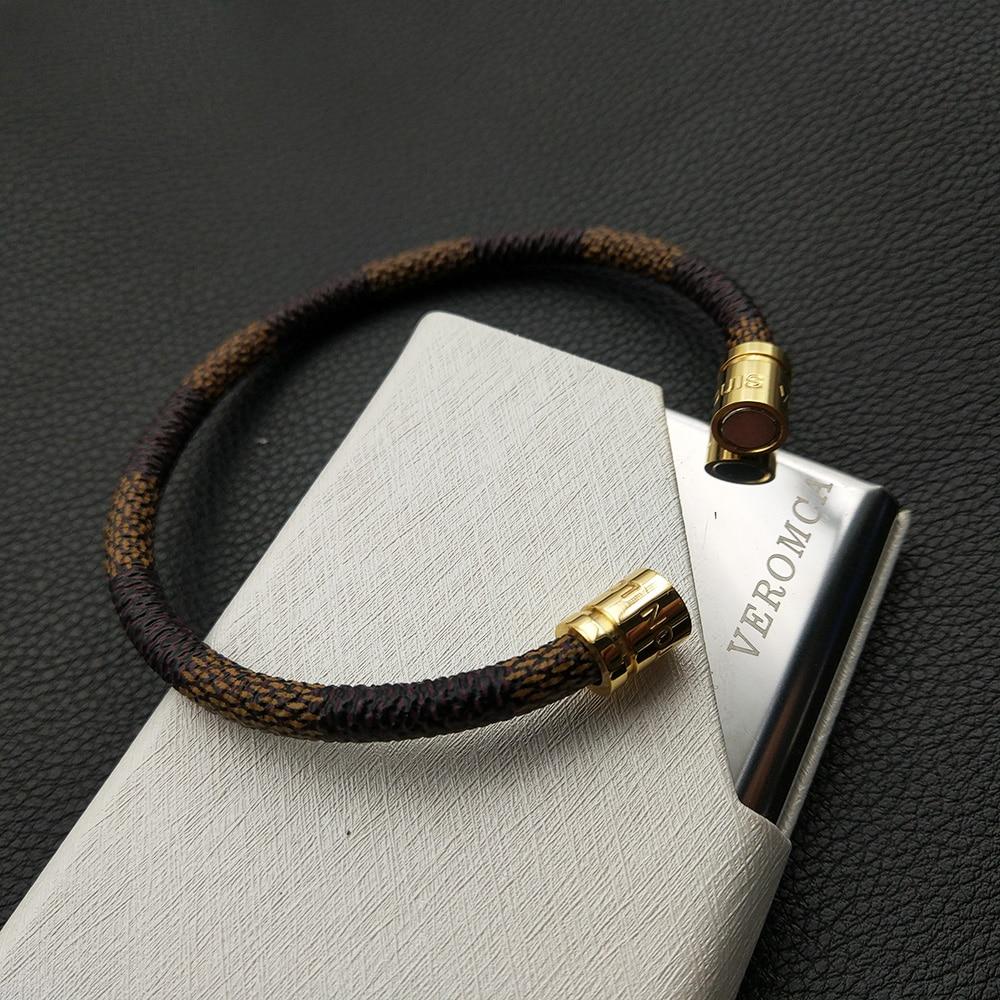 HTB19LCMXN9YBuNjy0Ffq6xIsVXah -   VEROMCA Leather-based Bracelet Stainless Metal Bracelets Males Jewellery Excessive High quality Charms Bracelets jewellery Magnetic Bracelet HTB1iDMFpNuTBuNkHFNRq6A9qpXaN