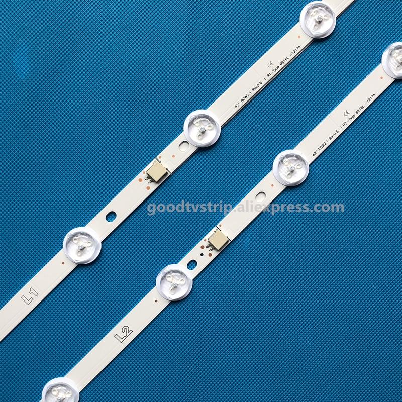 820mm Led Backlight Strip 10-leds For Lg 42la620z 42la620v 42lp360c 6916l-1317a 6916l-1318a 6916l-1319a 6916l-1320a 42ln570v Industrial Computer & Accessories