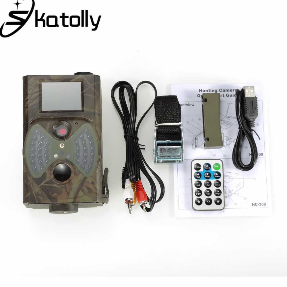 Skatolly Outdoor HC300 HC-300A Scouting Hunting Camera 12MP HD 940NM Infrared Wildlife Night Vision Trail Camera+Free shipping! 3pcs lot dhl free quality wildlife hunting camera 12mp hd digital infrared scouting trail camera 940nm ir led night vision video
