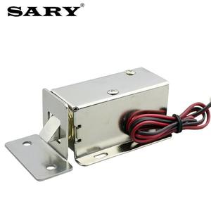 Image 2 - Trava eletromagnética pequena de 0.8a, armários de armazenamento, mini parafuso elétrico, fechadura de gaveta, armário