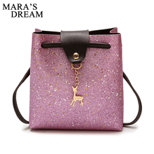 Mara's Dream 2019 New Women Crossbody Bags Small Deer PU Lea
