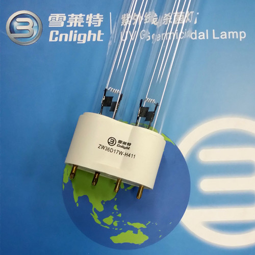 Disinfection machine lamp h disinfection machine lamp zw36d17w h411 2g11 ,36W UV C genmicidal light Matching ballast