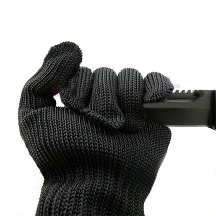 5-level Enhanced Anti-cutting Gloves Anti-blade Anti-knife Anti-cutting Wear-resistant Stainless Steel Wire Gloves Factory Suppl