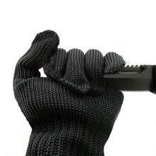 5-уровневая более устойчивые к порезам перчатки анти-лезвие анти-нож устойчивые к порезам износостойкая Нержавеющаясталь перчатки с проволокой дополнение фабрики