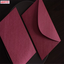 10 шт 13*20 см Ретро дизайн цветные пустые бумажные конверты свадебные приглашения Поздравительные открытки бизнес пригласительные конверты 6z