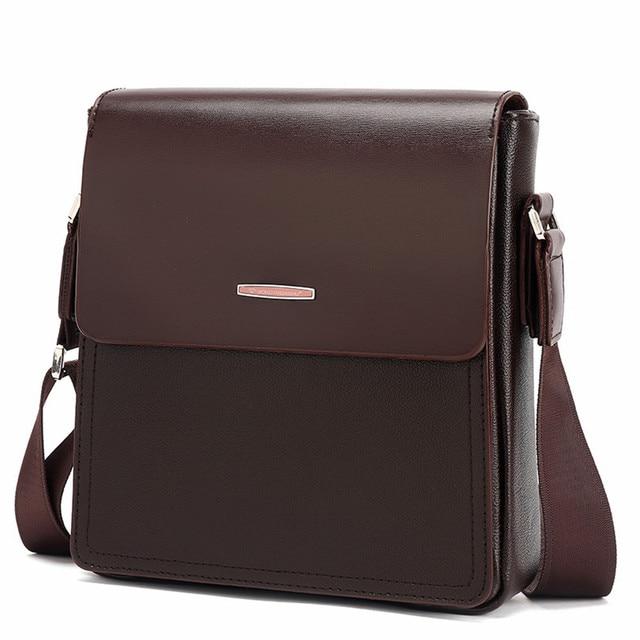 Aliexpress.com : Buy 2017 new messenger bag men pu leather Men's ...