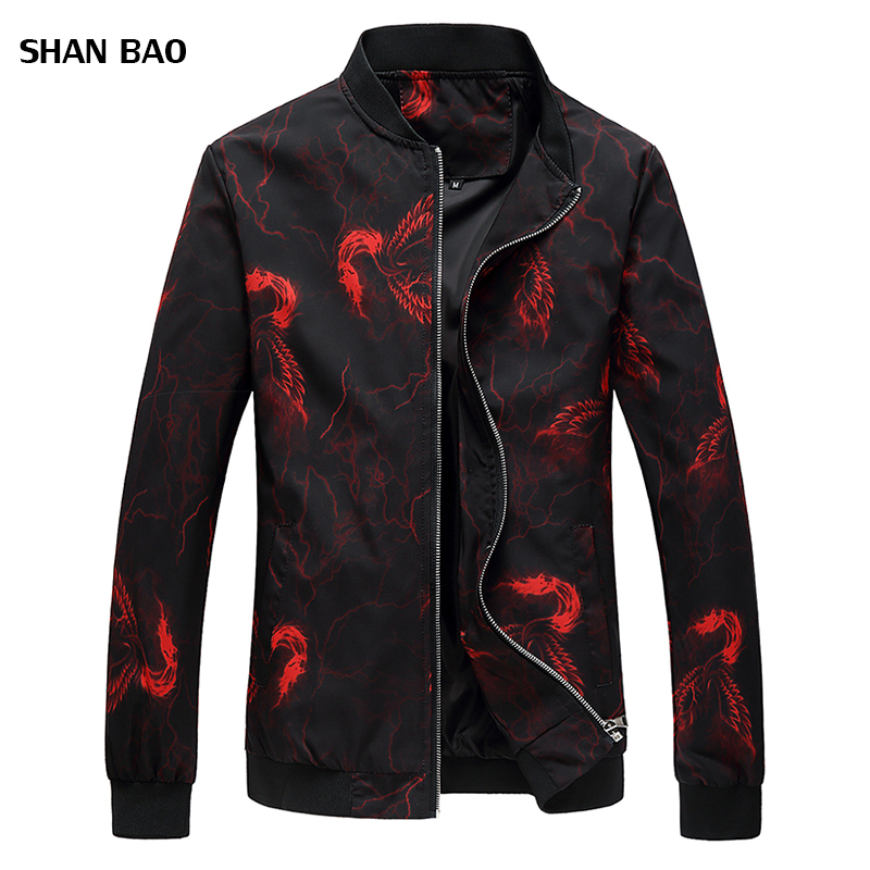 Nouveauté marque hommes bomber veste marque vêtements décontracté Slim Phoenix fleur veste hommes de haute qualité Jaqueta Masculino 6XL
