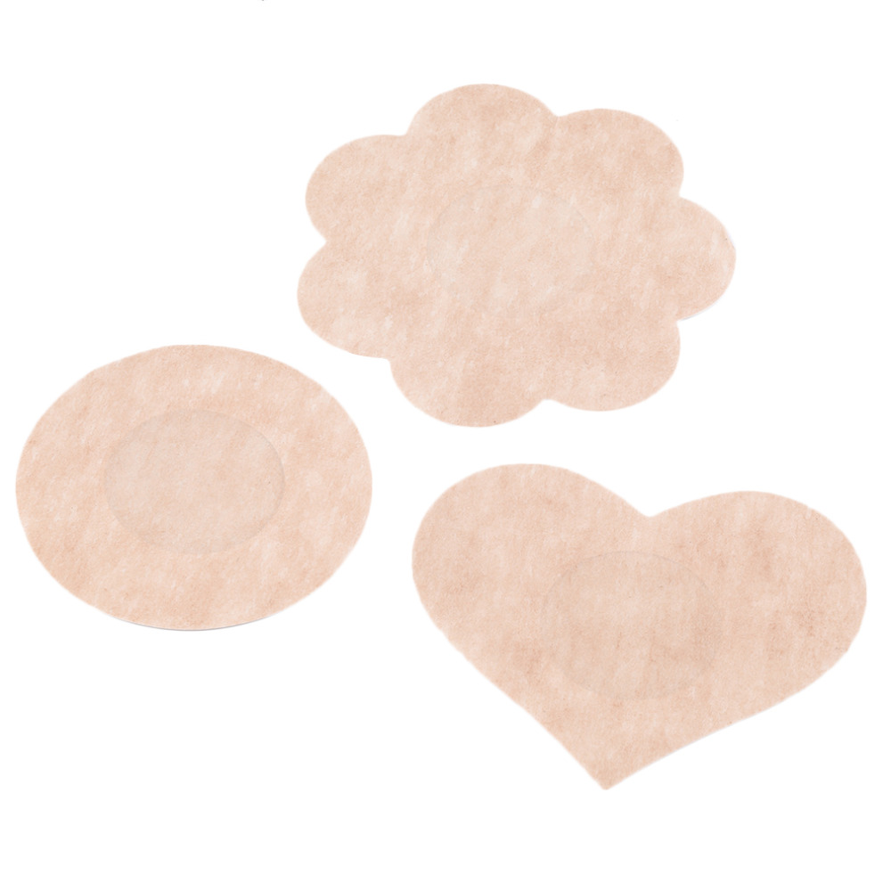 1 Pair Womens Invisible Breasts Stickers Breast Lift Tape Bra Pads Nipple Cover Anti Emptied Chest Paste 3 types Disposable