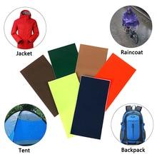 Самоклеящаяся клейкая лента для палаток, аксессуары для кемпинга, походов, ремонтная лента, водонепроницаемая нейлоновая тканевая наклейка