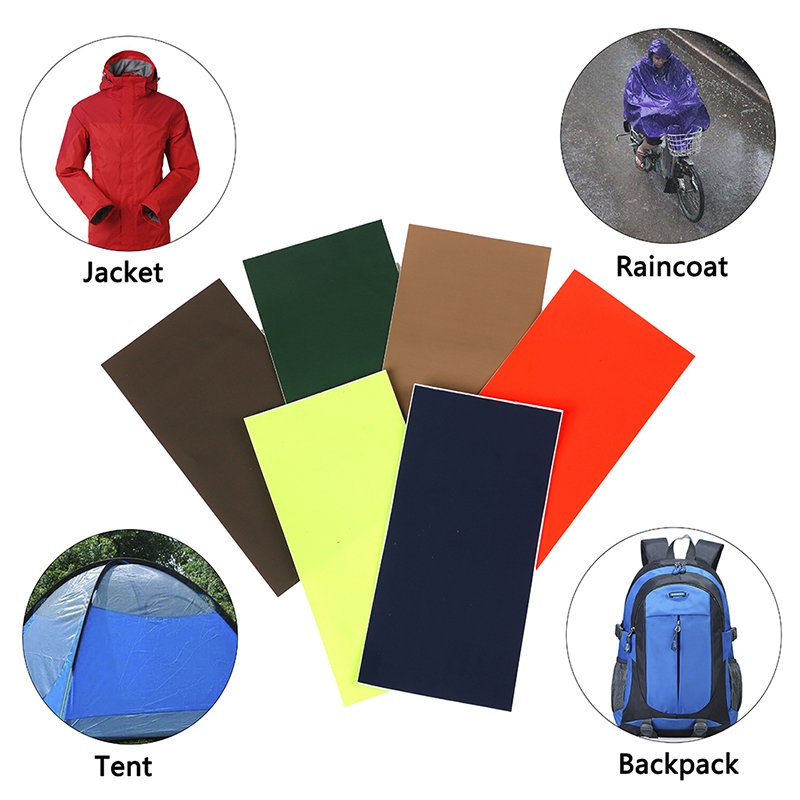 Self Adhesive Patch Tent Accessories Outdoor Camping Hiking Repair Tape Waterproof Nylon Cloth Sticker