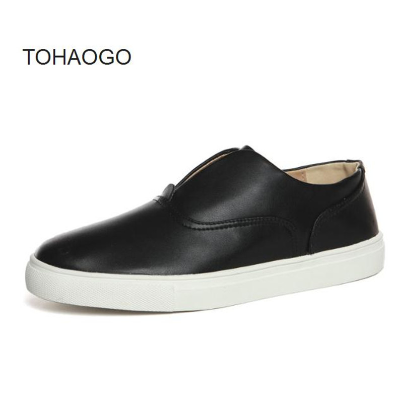 Extra large code 48 men's casual shoes white, black 46 large size 47 thick bottom Loafers Spring and Autumn new Flats huarche фен elchim dress code black 03081