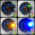 Universal hot LED Backlight Signal Light Motorcycle Speedometer Dual Odometer Gauge for yamaha  honda suzuki kawasaki Ducati KTM