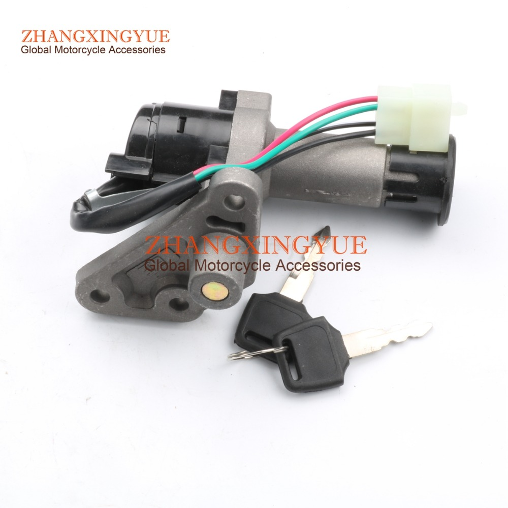 GY6 Key Ignition Switch Lock Set Scooter Moped 50cc 150cc