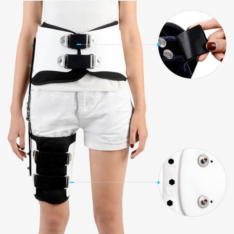 Image 2 - JayCreer Hip Fixation Brace Orthosis Extension Stent Thigh Fractures Corrective Protective Gear Support Fit Waist Size Max 114CM-in Braces & Supports from Beauty & Health