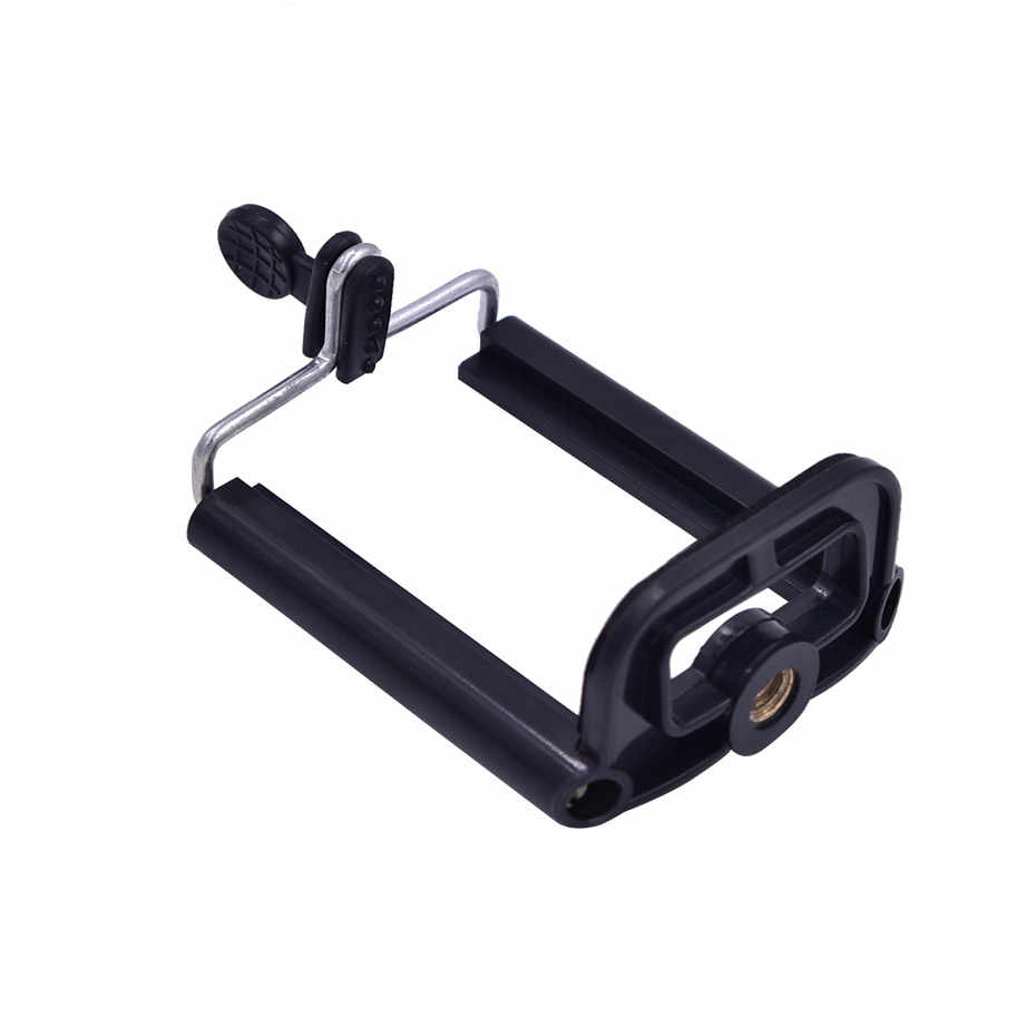 Mobile Phone Clip Holder Universal Mount Bracket Adapter for Smartphone Camera Cell Phone Tripod Stand Mount Adapter Monopod