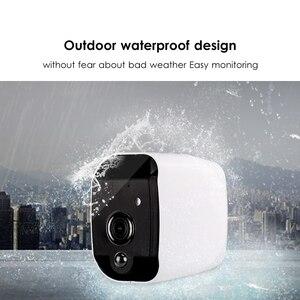 Image 5 - Marlboze inteligentna bateria 1080P HD wifi kamera IP z noktowizorem wykrywanie ruchu obsługa Audio karta TF APP Alarm Push kamera