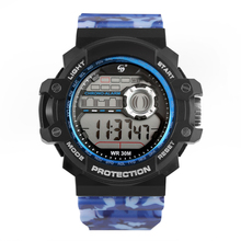 Fashion Digital Sport Quartz Watch for Student Camouflage Electronic Waterproof  Watches Luminous Function Calendar Display все цены