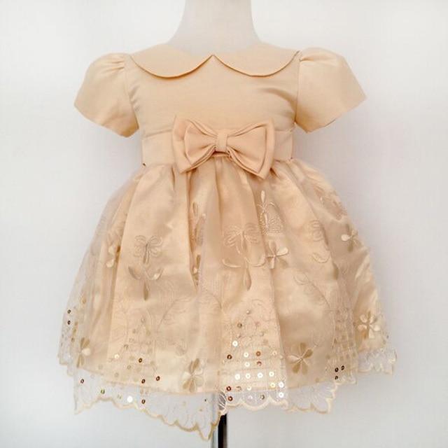 10bc44dc4125 baby Girls Party Dresses Newborn Baby girl birthday christmas dress ...