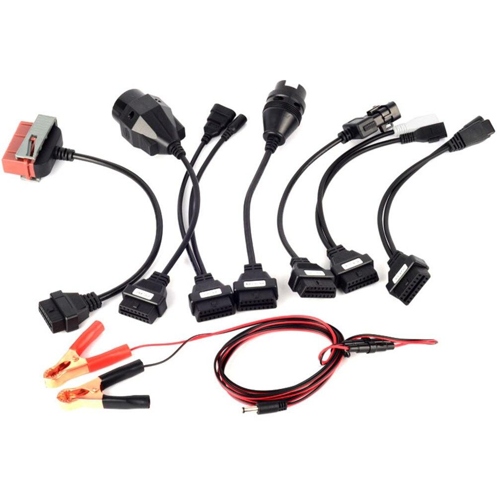 Auto Adapter Auto Kabel Obd2 Vollen Satz 8 Pcs Auto Kabel Obd Für CDP Pro Autos Diagnose Interface scanner Tool