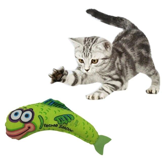 Nuovo Bella Pet Forniture Gatto Grasso Giocattolo Kitty Fischi Catnip Cane Gatti