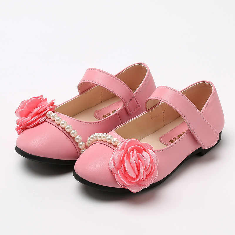 Genuine Leather Children Shoes For