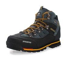 Уличной водонепроницаемые популярные восхождение ботинки кожаные & обуви кроссовки рыбалка новые
