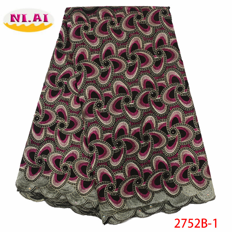 African Lace Fabric Latest Nigerian Swiss Lace Fabric 2019 High Quality Cotton Swiss Voile Laces Switzerland