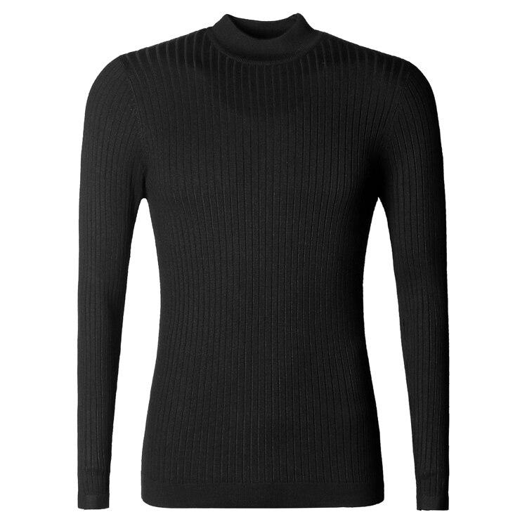 Sweater Neck Men's Black