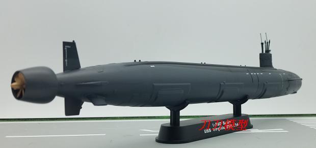 2017 Simulation statique en plastique jouets produit prêt marine britannique nucléaire sous-marin modèle assemblé navire