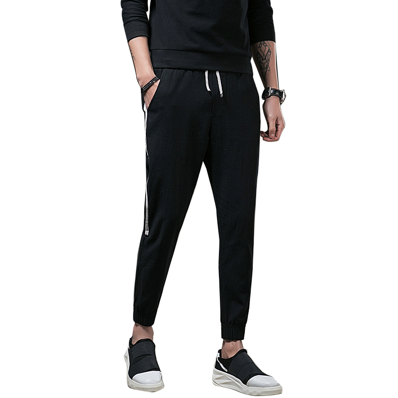 Men Sportswear Sweatpants 2018 Autumn Casual Soft Working Pants Outside Joggers Pants Mens Quickly Dry Solid Straight Trousers