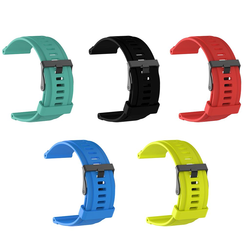 Fashion Replacement Silicone Band Strap Wristband for Suunto Traverse Sport Smart Watch