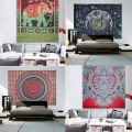 Indian hippie Mandala Tapestry wall boho tapestry Picnic Throw Beach Gypsy Blanket mandala toallas Travel Mattress Bedspread
