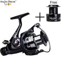 Spinning Fishing Reel Double Brake Carp Fishing Feeder 10BB Spinning Reel 5.5:1 Quality Carp Fishing Reel 3000 4000 5000 6000