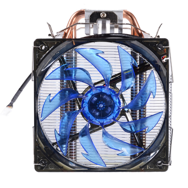 Prehistorical Powers 5 Puls CPU Blue/Red LED Cooling Fan Copper and Aluminum Five Heat Pipe Cooling Fast evercool hpl 815 cpu cooling fan black red silver