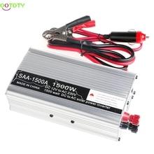 New 3000W Peak DC12V to AC 230V Solar Power Inverter Converter USB Output Stabl  828 Promotion