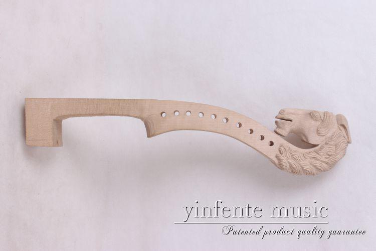 4/410 string   New violin  Neck Man Head Hand Carve High Quality 1-2 4 410 string new violin neck man head hand carve high quality 1 2