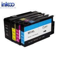 INKOO 950XL 951XL Ink Cartridge For HP 950 XL 951 XL Officejet Pro8100 8600 8610 8620