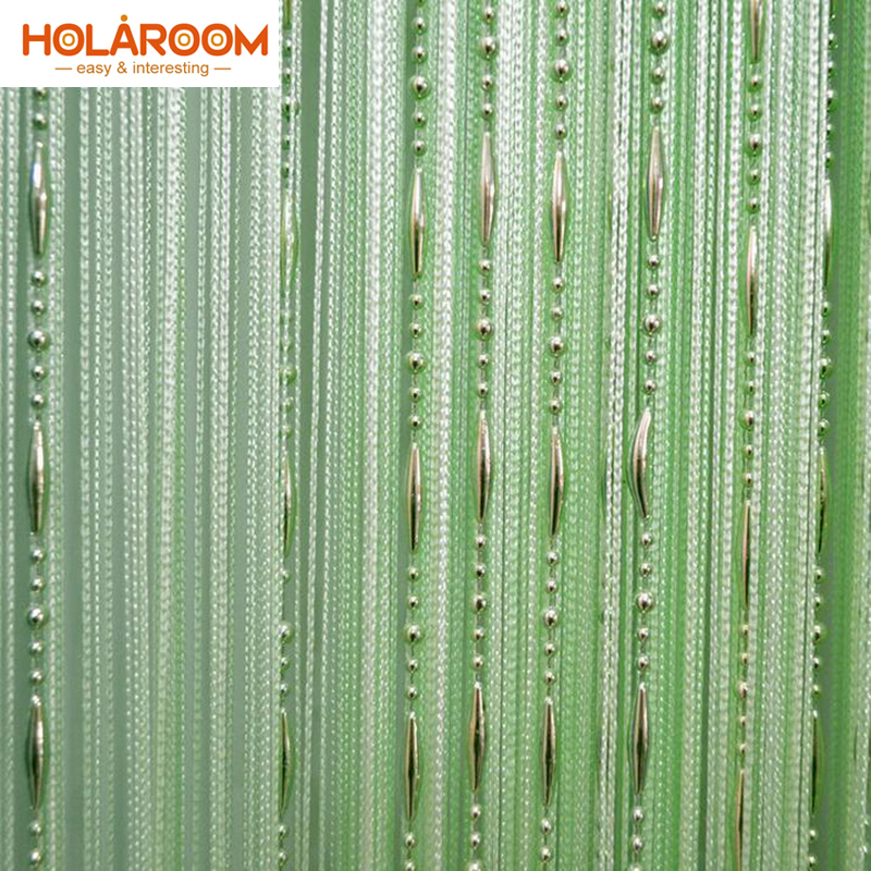 12 color Beads line curtain Modern Yarn Dyed Curtains for Home Living room door Hotel Cafe interior decoration Solid Curtain-in Curtains from Home & Garden on Aliexpress.com | Alibaba Group