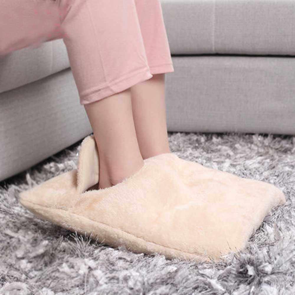 Stóp ogrzewacz dłoni poduszka elektryczna kapcie Sofa krzesło ciepła poduszka elektryczne podkładki grzewcze ciepłe buty zimowy ciepły koc elektryczny