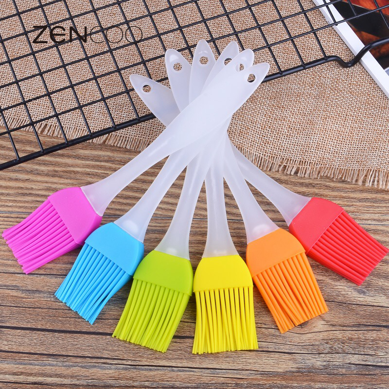 ZENCOO High Temperature Resistant Silicone Professional outdoor Barbecue BBQ Cooking Tools seasoning sauces condiments Oil brush