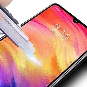 Image 2 - Cristal Protector de pantalla para Xiaomi, Protector de vidrio templado con pegamento completo para Xiaomi Mi 9 SE 9T CC9 CC9E A3 Lite 7 7A K20 Note 7 Pro