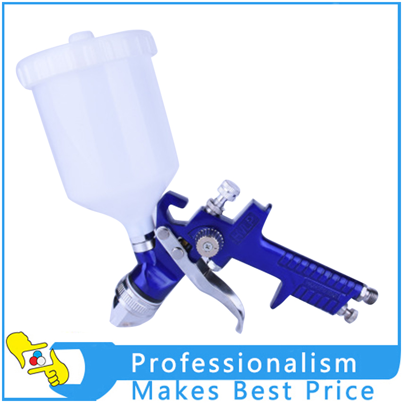 1.4mm/1.7mm Nozzle Professional Gravity Feed HVLP Paint Spray Gun Airbrush Car Furniture Finishing Coat Painting Spraying Tool e887g hvlp spray gun set suitable for spraying primer gravity feed with 1 4mm nozzle 600ml pot